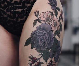 floral tattoo image