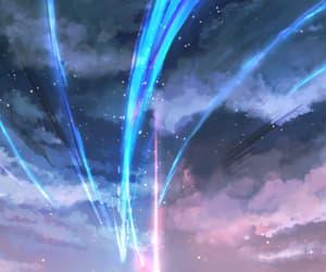anime, makoto shinkai, and anime movie image