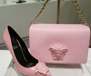 Versace, pink, and bag image