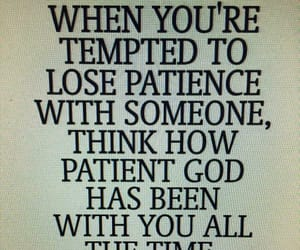 patience, unconditional love, and tempted image