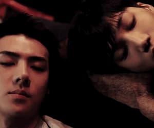 exo, sehun, and kai image