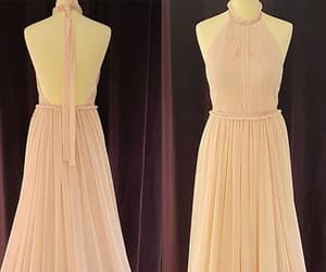 backless prom dress and halter prom dress image