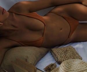 aesthetic, dark, and bikini image