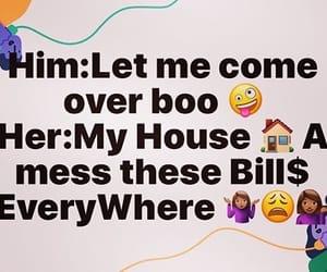 bills, broke, and girls image
