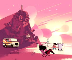 cartoon, steven universe, and pink image