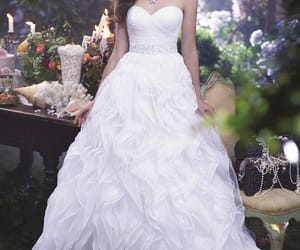 dress, magical, and sweetheart image