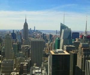 newyork, newyorkcity, and topoftherock image