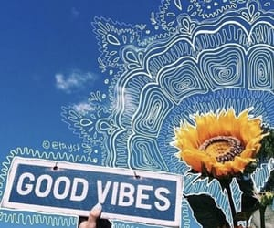 happy, sky, and good vibes image