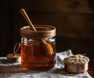 honey, food, and sweet image