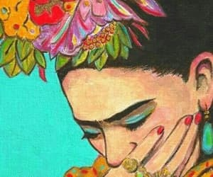 background and frida kahlo image