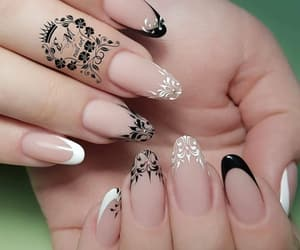 design, manicure, and nail art image