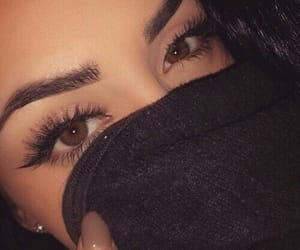 eyebrows, girl, and goals image