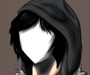 anime, creepy, and gif image