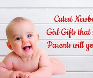 baby girl gifts, new baby gifts, and baby gift items image