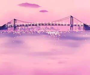 gif, pink, and anime image