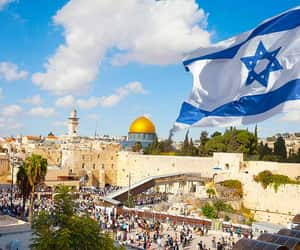 israel and Jerusalem image