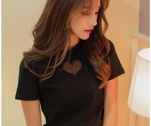 black, kstyle, and fashion image