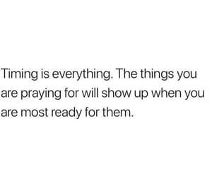 god, prayers, and time image