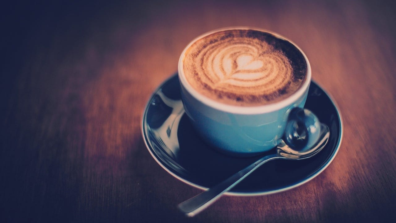 article, foods, and coffee image