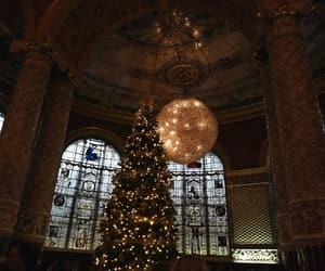 chandelier, high tea, and christmas image