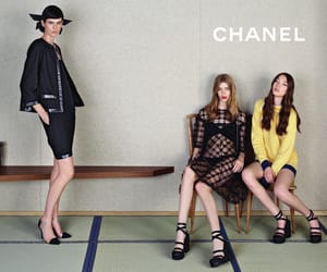 campaign, magazine, and chanel image