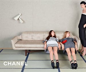 campaign, chanel, and Couture image