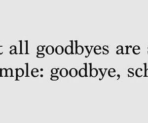 school and goodbye image