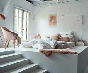 bedroom, house, and goals image