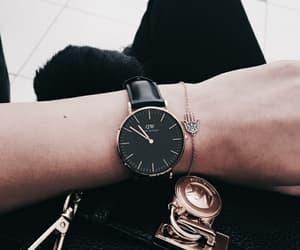 black, bracelet, and classy image