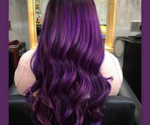 colored, curls, and girl image