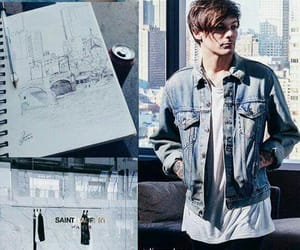 louis, louistomlinson, and wallpaper image