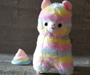 alpaca, rainbow, and soap image