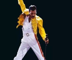 Queen, Freddie Mercury, and music image