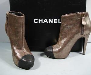 chanel, heel, and heels image