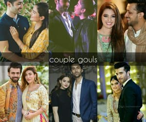 love birds, couple gouls, and love couple image