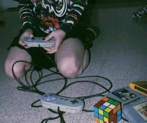 retro, video games, and vintage image
