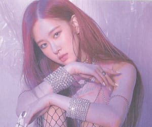square up, rose, and blackpink image