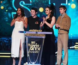 mtv awards, 13 reasons why, and miles heizer image