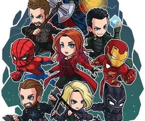 Avengers, black panther, and ironman image