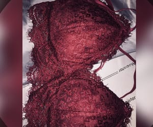 lingerie, honeymoon, and red image