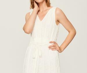dress, pleats, and boho image