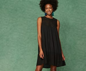 dress, eyelet, and broderie image