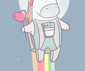 unicorn, cute, and background image