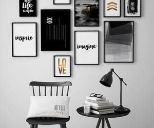 decorating, room, and home image