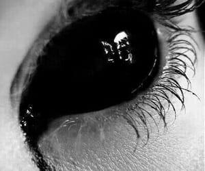 black, eye, and eyes image