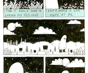 comic, sad, and the sad ghost club image