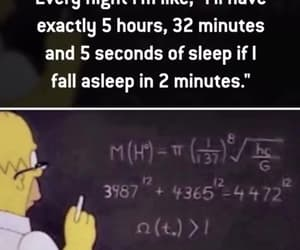 bart simpson, funny, and mathematics image