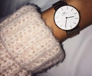 clock, fashion, and pink image