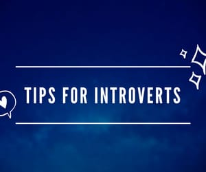 article, blog, and introvert image