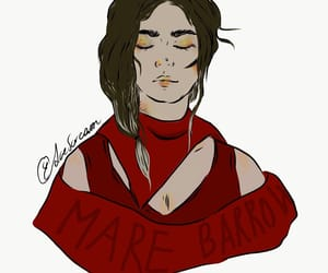 red queen, newblood, and mare barrow image